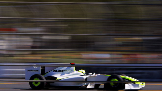 Jenson Button, BrawnGP Mercedes