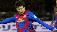Lionel Messi v dresu Barcelony