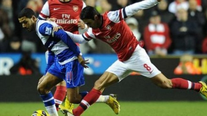 Reading 2-5 Arsenal