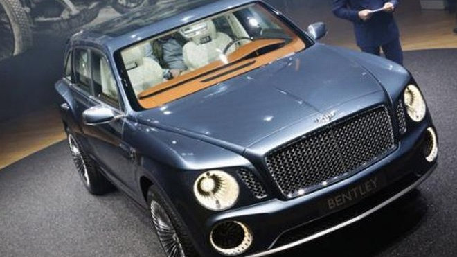 Bentley EXF9 Falcon SUV