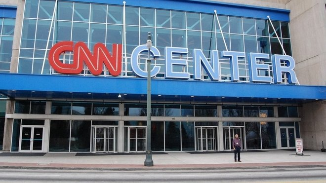 CNN Centrum v Atlantě, USA