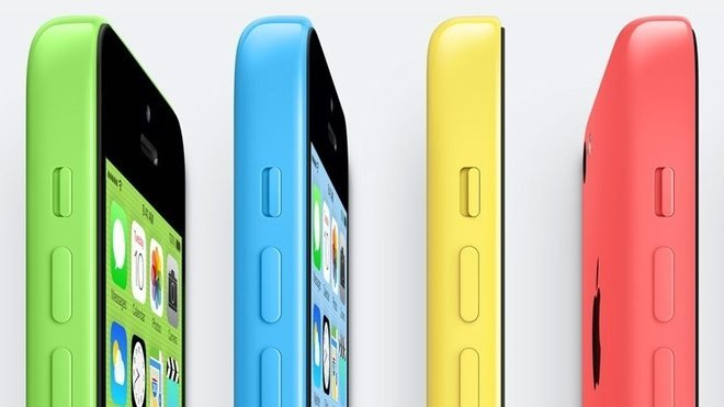Nový iPhone 5C
