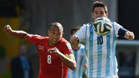 Lionel Andres Messi z Argentiny