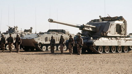 AuF1 a AMX-10P (Royal Saudi Land Force)