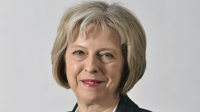 Theresa Mayová, UK Home Office [CC BY 2.0 (http://creativecommons.org/licenses/by/2.0)], via Wikimedia Commons