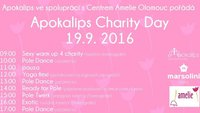 Plakát k Apokalips Charity Day 2016