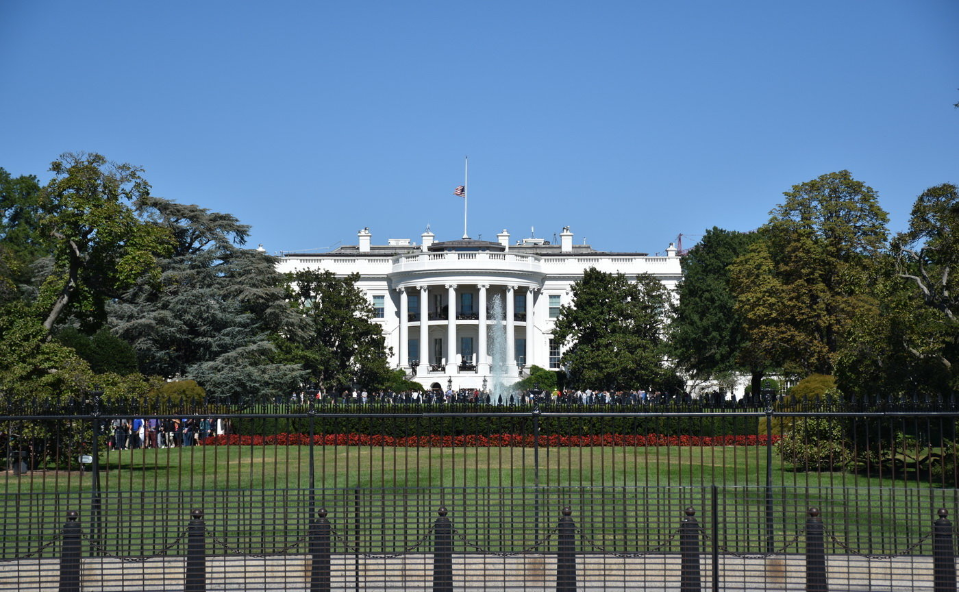 Bílý dům (The White House), Wahsington D.C., USA
