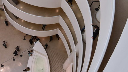 The Solomon R. Guggenheim Museum, New York, USA