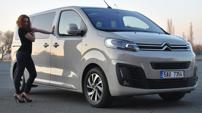 Citroen Spacetourer Bussines Lounge 2.0 BlueHDI (2017)