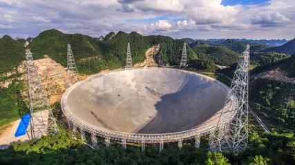 FAST (Five-hundred meter Aperture Spherical Telescope)