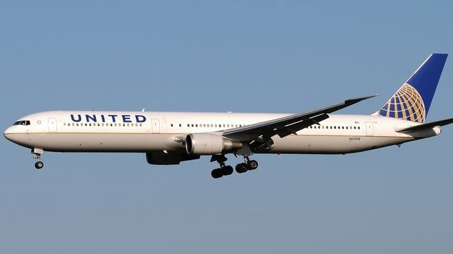 Boeing 767 United Airlines