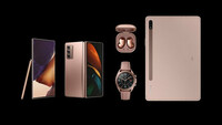 Galaxy Note20, Tab S7, Galaxy Watch3, Galaxy Buds Live a Galaxy Z Fold2